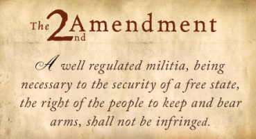 The Second Amendment of the Constitution
