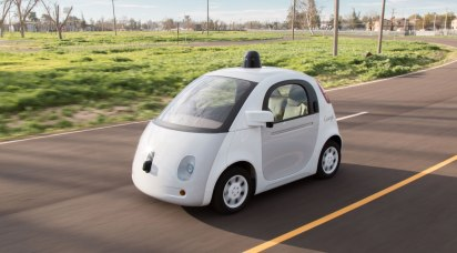 Google's Self-Driving cars have collectively travelled more than 1 million miles. Copyright: Google