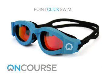 Point. Click. Swim. OnCourse are currently raising money through Kickstarter